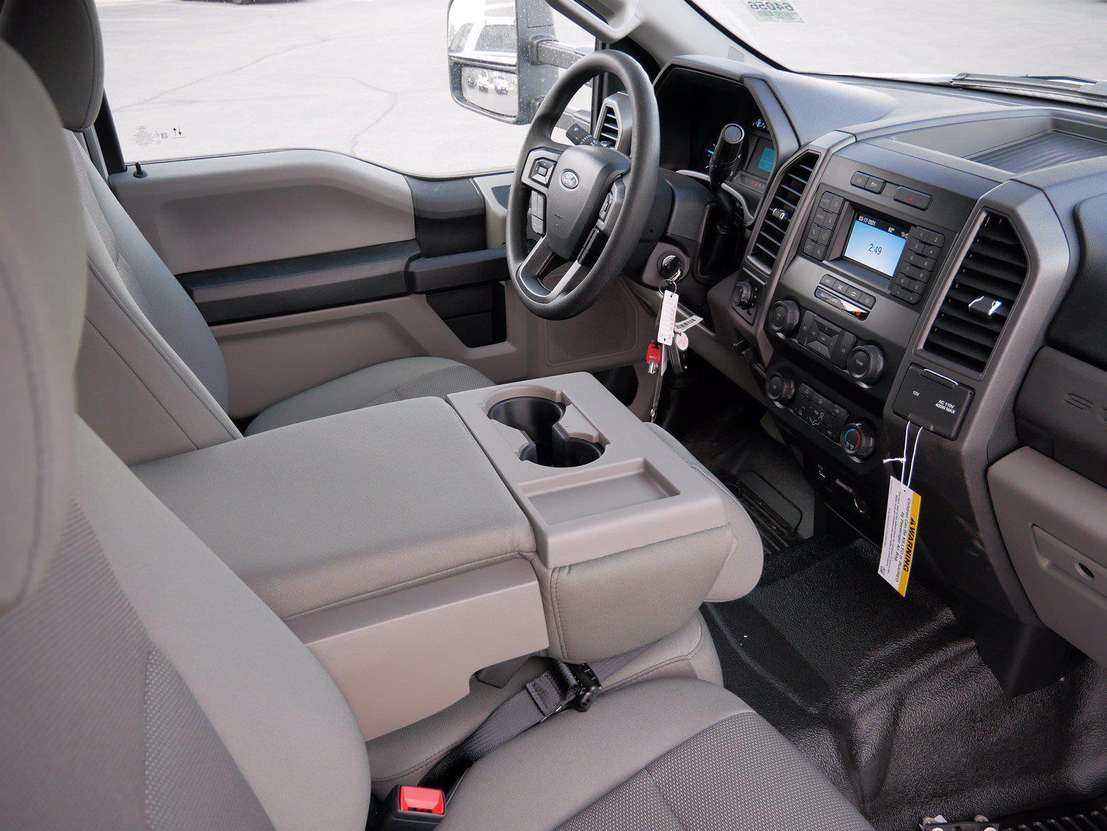 2021 Ford F-550 Crew Cab DRW 4x4, Scelzi SCTFB Contractor Body #64056 - photo 31