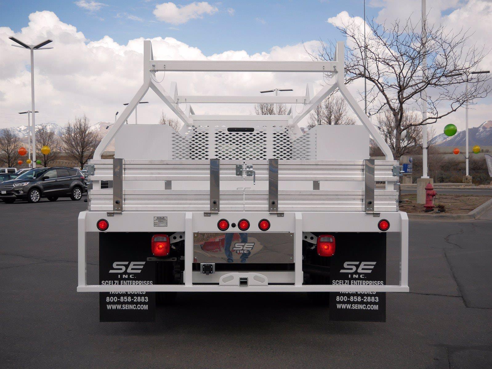 2021 Ford F-550 Crew Cab DRW 4x4, Scelzi SCTFB Contractor Body #64056 - photo 6