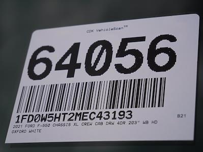 2021 Ford F-550 Crew Cab DRW 4x4, Scelzi SCTFB Contractor Body #64056 - photo 36