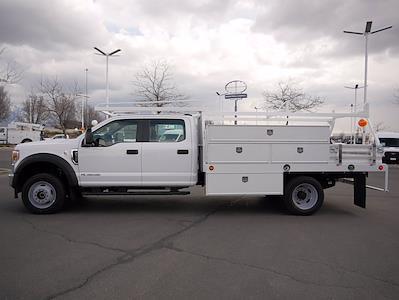 2021 Ford F-550 Crew Cab DRW 4x4, Scelzi SCTFB Contractor Body #64056 - photo 7