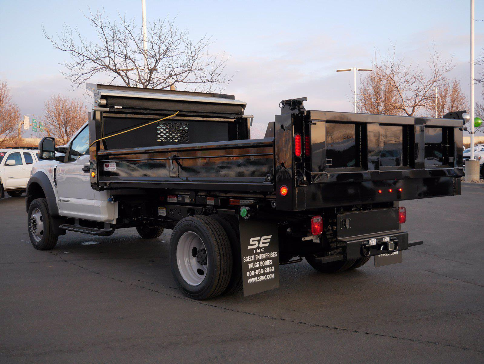 2021 Ford F-550 Regular Cab DRW 4x4, Scelzi Dump Body #64083 - photo 2