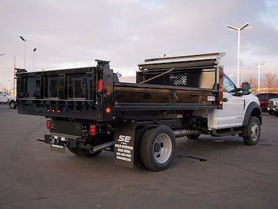 2021 Ford F-550 Regular Cab DRW 4x4, Scelzi Dump Body #64083 - photo 4