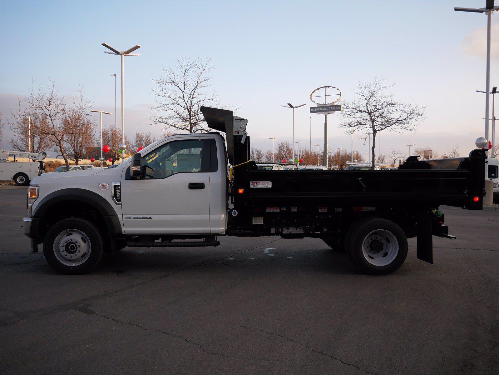 2021 Ford F-550 Regular Cab DRW 4x4, Scelzi Dump Body #64096 - photo 7