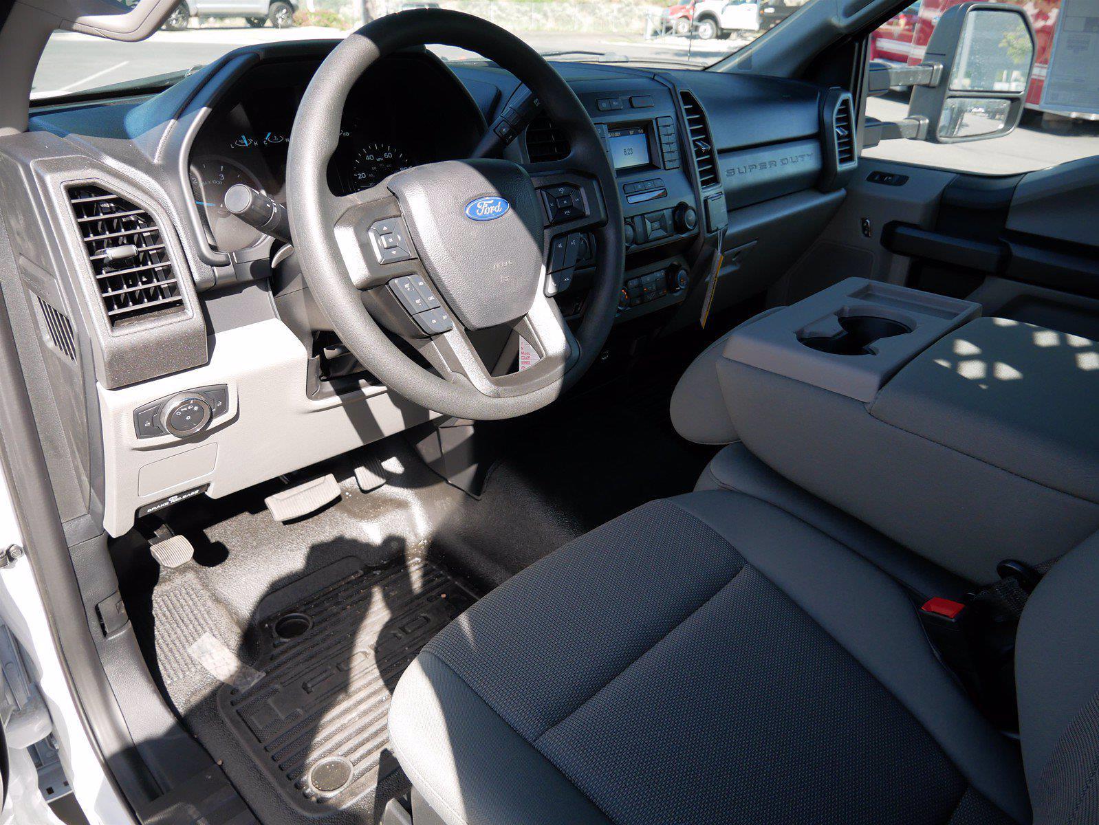2021 Ford F-550 Regular Cab DRW 4x4, Scelzi SFB Stake Bed #64117 - photo 13