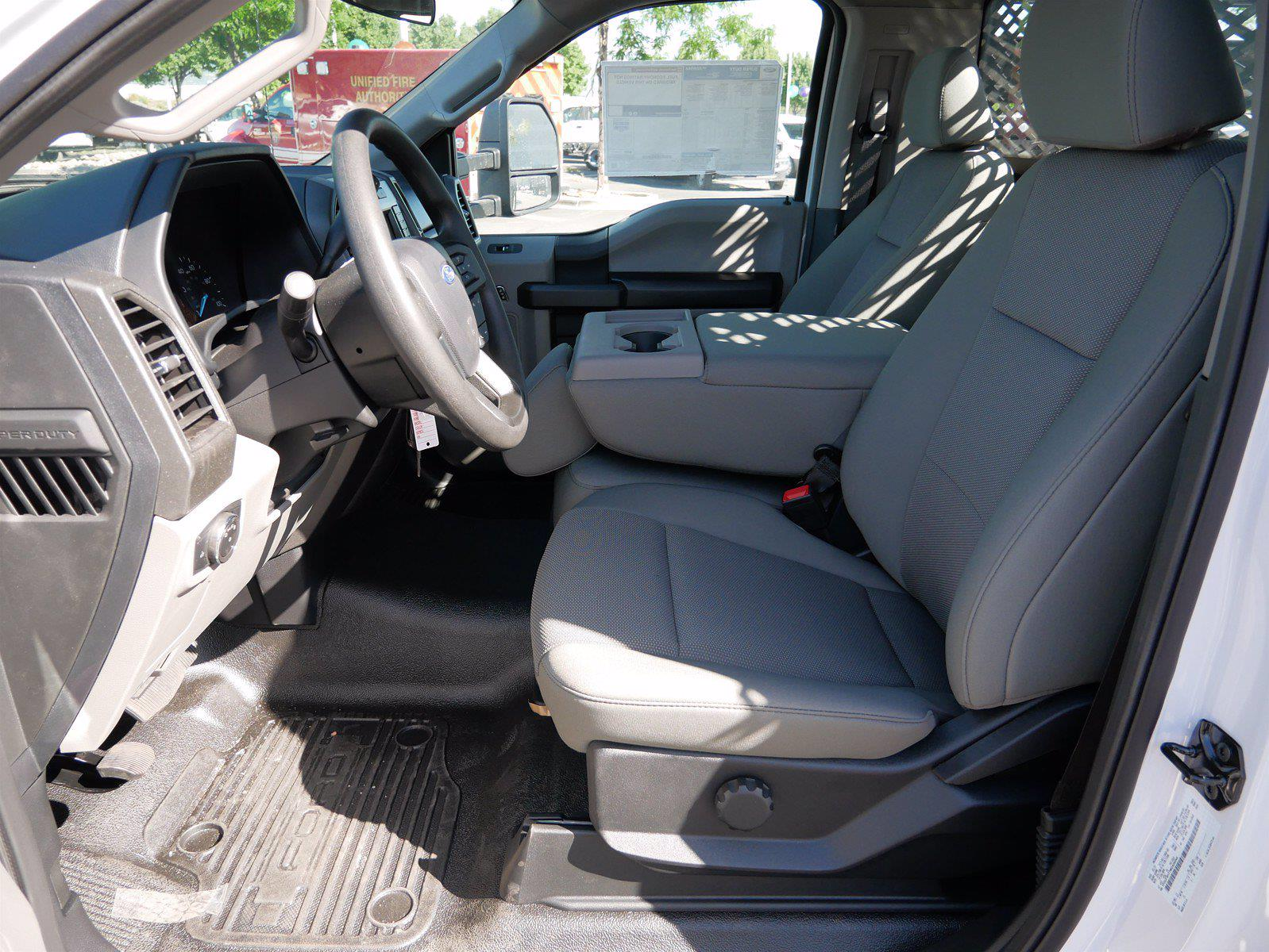 2021 F-550 Regular Cab DRW 4x4,  Scelzi SFB Stake Bed #64117 - photo 13
