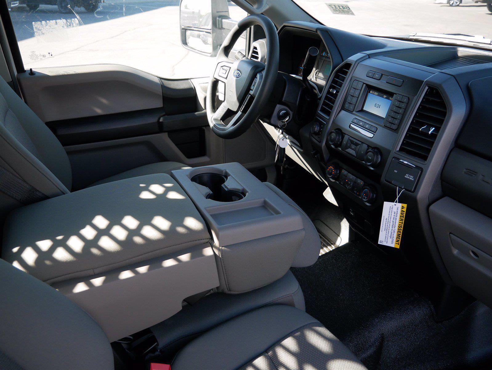 2021 Ford F-550 Regular Cab DRW 4x4, Scelzi SFB Stake Bed #64117 - photo 22
