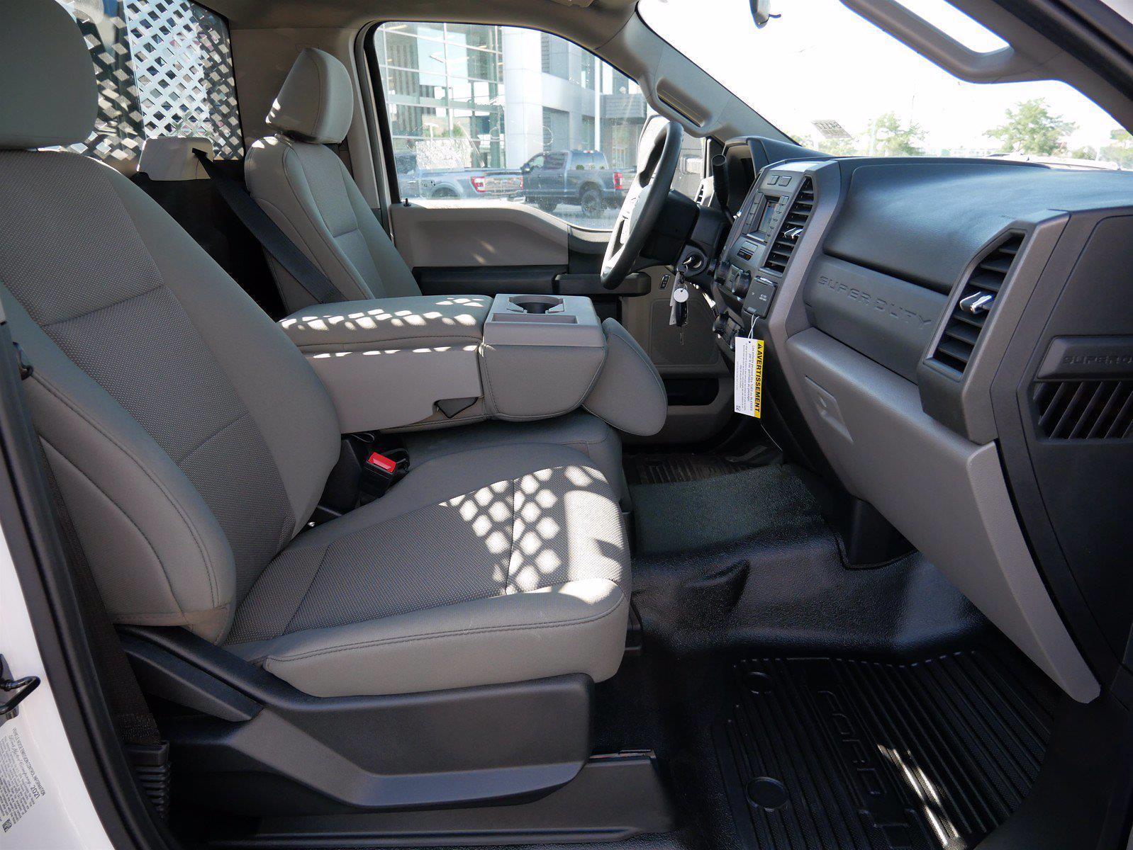 2021 Ford F-550 Regular Cab DRW 4x4, Scelzi SFB Stake Bed #64117 - photo 23