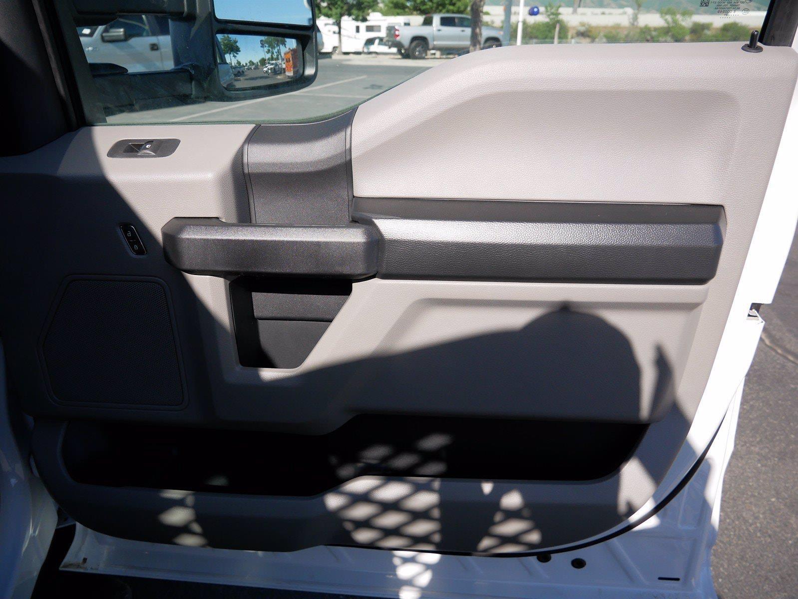 2021 Ford F-550 Regular Cab DRW 4x4, Scelzi SFB Stake Bed #64117 - photo 25