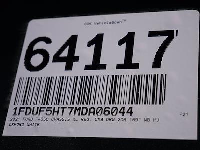 2021 Ford F-550 Regular Cab DRW 4x4, Scelzi SFB Stake Bed #64117 - photo 27
