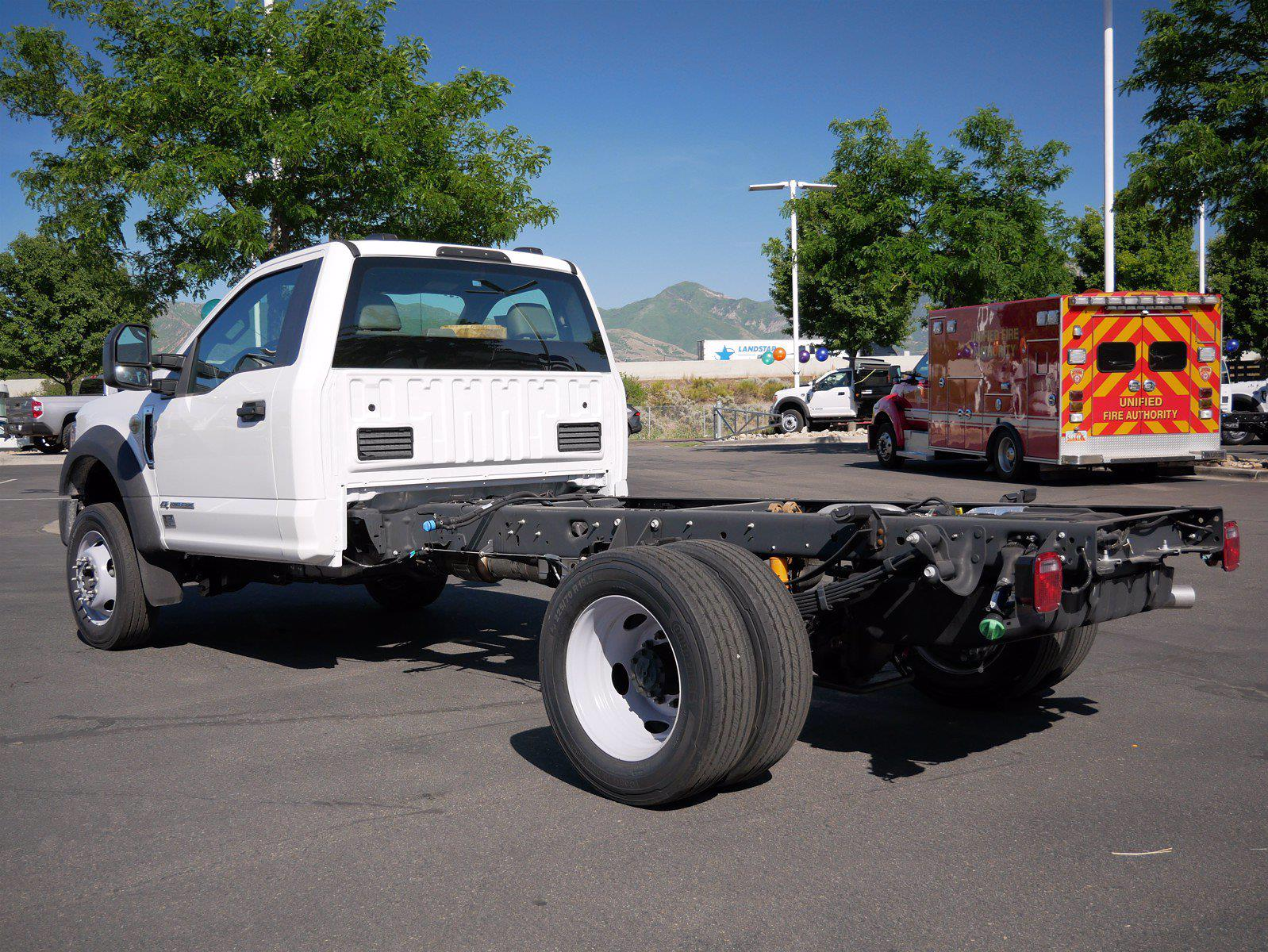2021 Ford F-450 Regular Cab DRW 4x4, Cab Chassis #64405 - photo 2