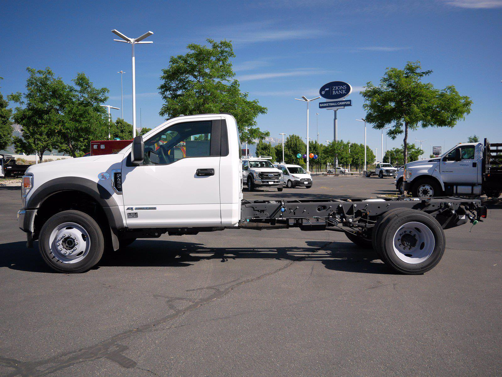 2021 Ford F-450 Regular Cab DRW 4x4, Cab Chassis #64405 - photo 9