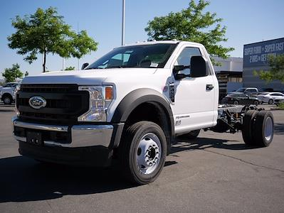2021 Ford F-450 Regular Cab DRW 4x4, Cab Chassis #64405 - photo 1