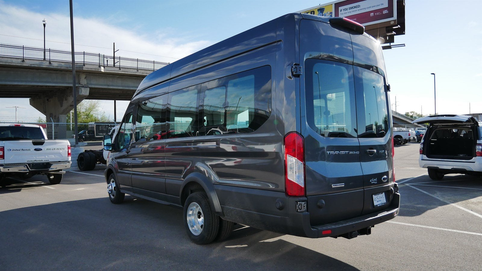 2019 Transit 350 HD High Roof DRW 4x2,  Passenger Wagon #69142 - photo 6