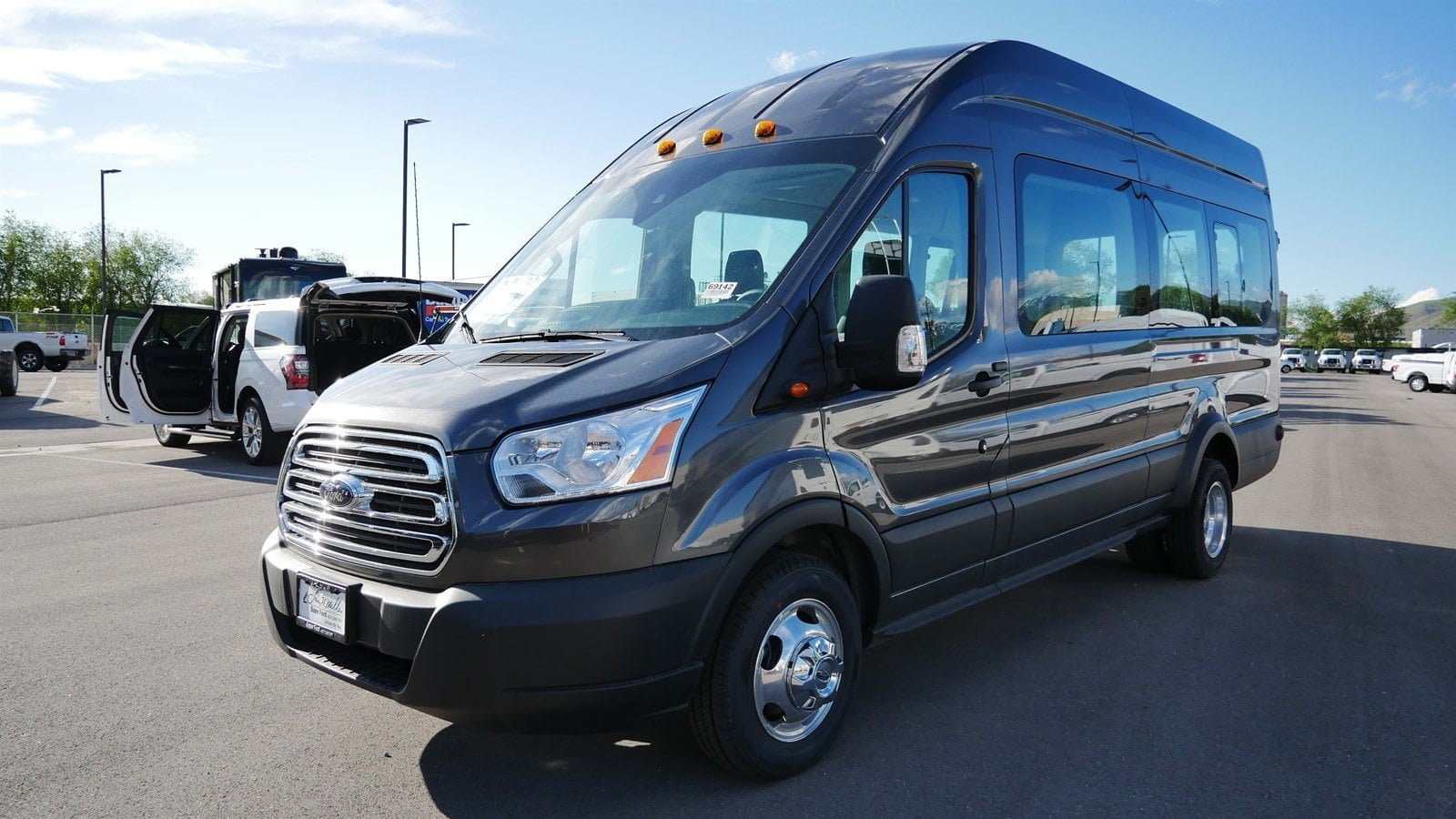 2019 Transit 350 HD High Roof DRW 4x2,  Passenger Wagon #69142 - photo 8