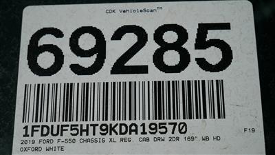 2019 F-550 Regular Cab DRW 4x4,  Scelzi Contractor Body #69285 - photo 27
