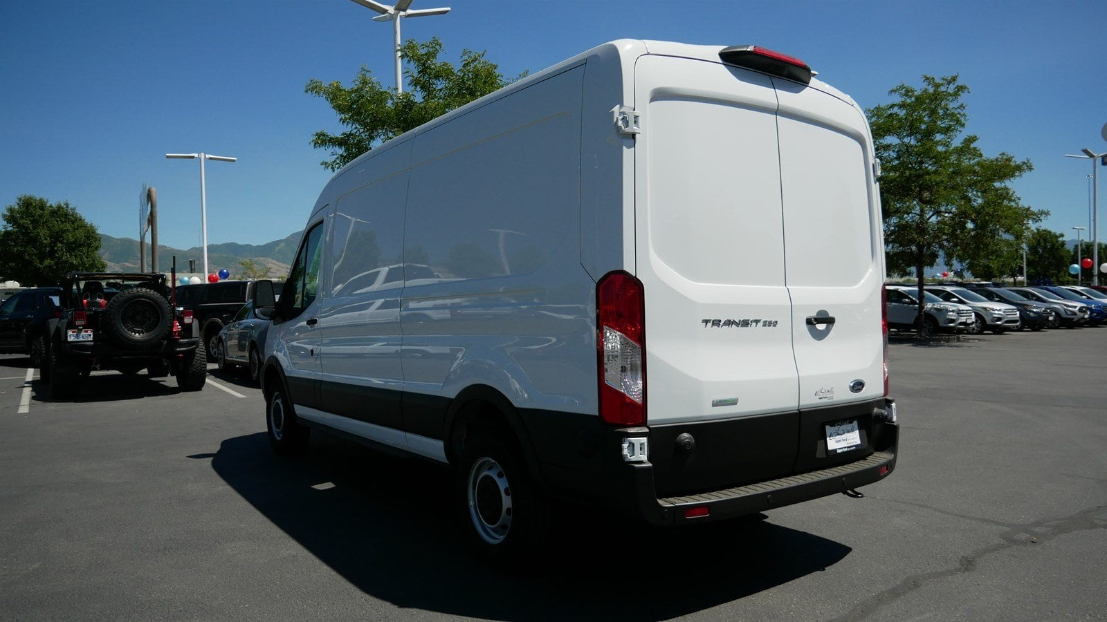 2019 Transit 250 Med Roof 4x2,  Empty Cargo Van #69304 - photo 7