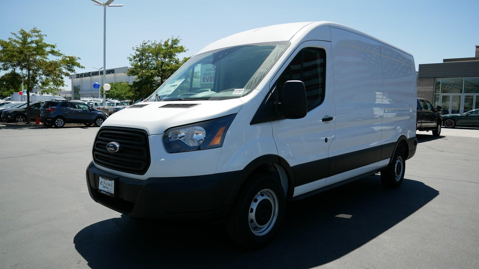 2019 Transit 250 Med Roof 4x2,  Empty Cargo Van #69304 - photo 9