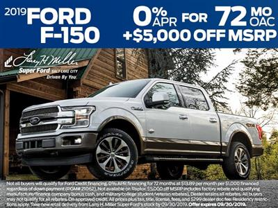 2019 F-150 SuperCrew Cab 4x4,  Pickup #69341 - photo 4