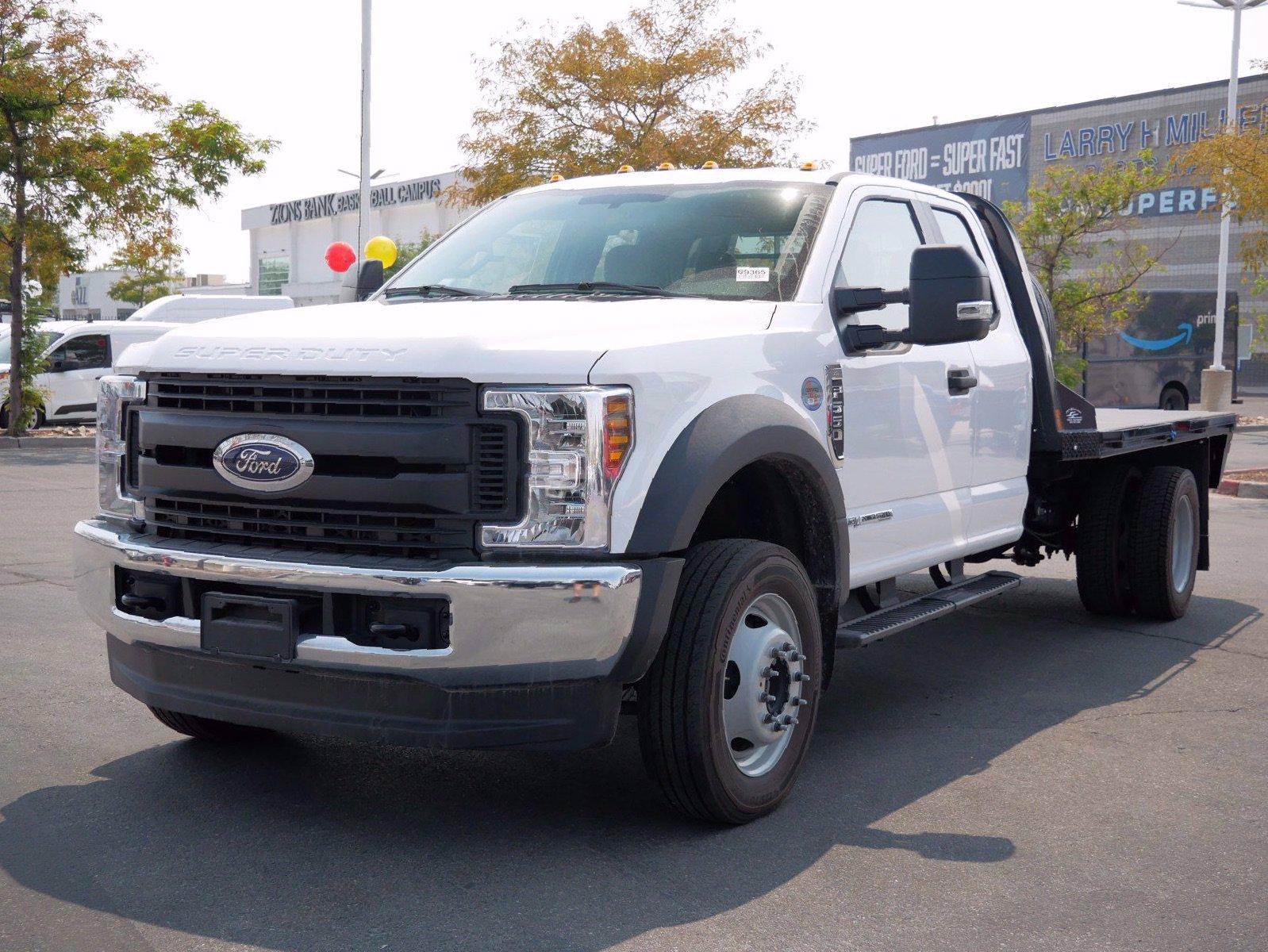 2019 Ford F-550 Super Cab DRW 4x4, CM Truck Beds Platform Body #69365 - photo 34