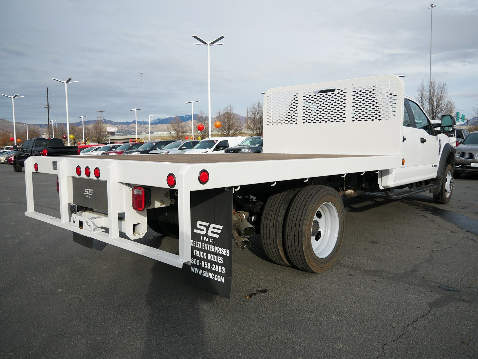 2019 F-550 Crew Cab DRW 4x4, Scelzi Platform Body #69372 - photo 2
