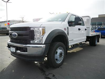 2019 F-550 Crew Cab DRW 4x4, Scelzi Platform Body #69372 - photo 8