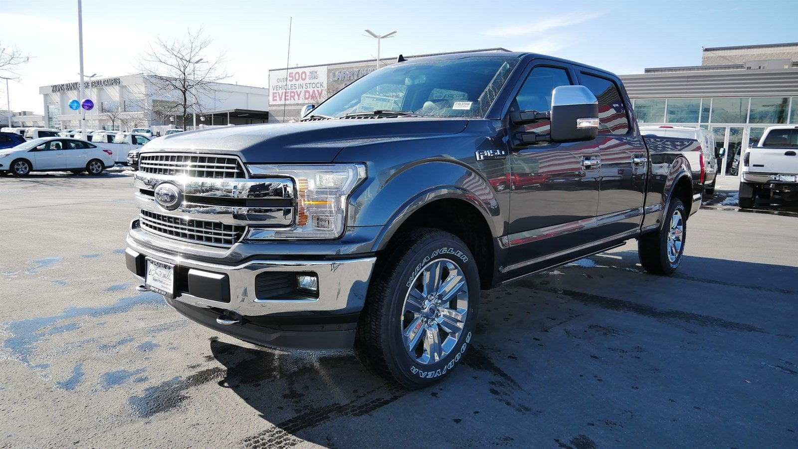 2019 F-150 SuperCrew Cab 4x4,  Pickup #70398 - photo 7