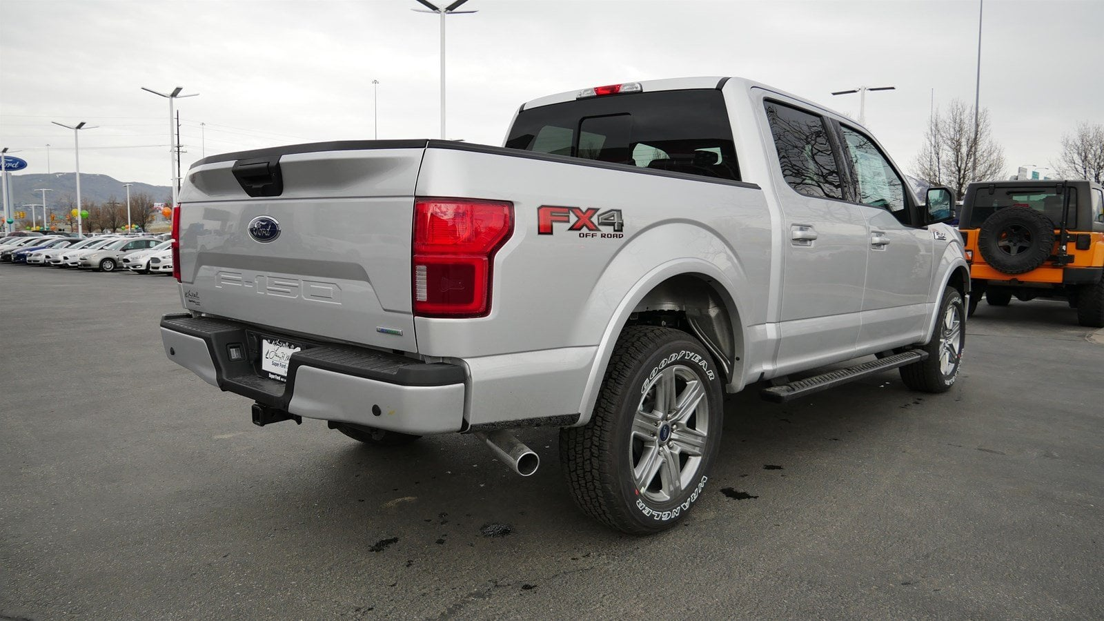 2019 F-150 SuperCrew Cab 4x4,  Pickup #70591 - photo 2