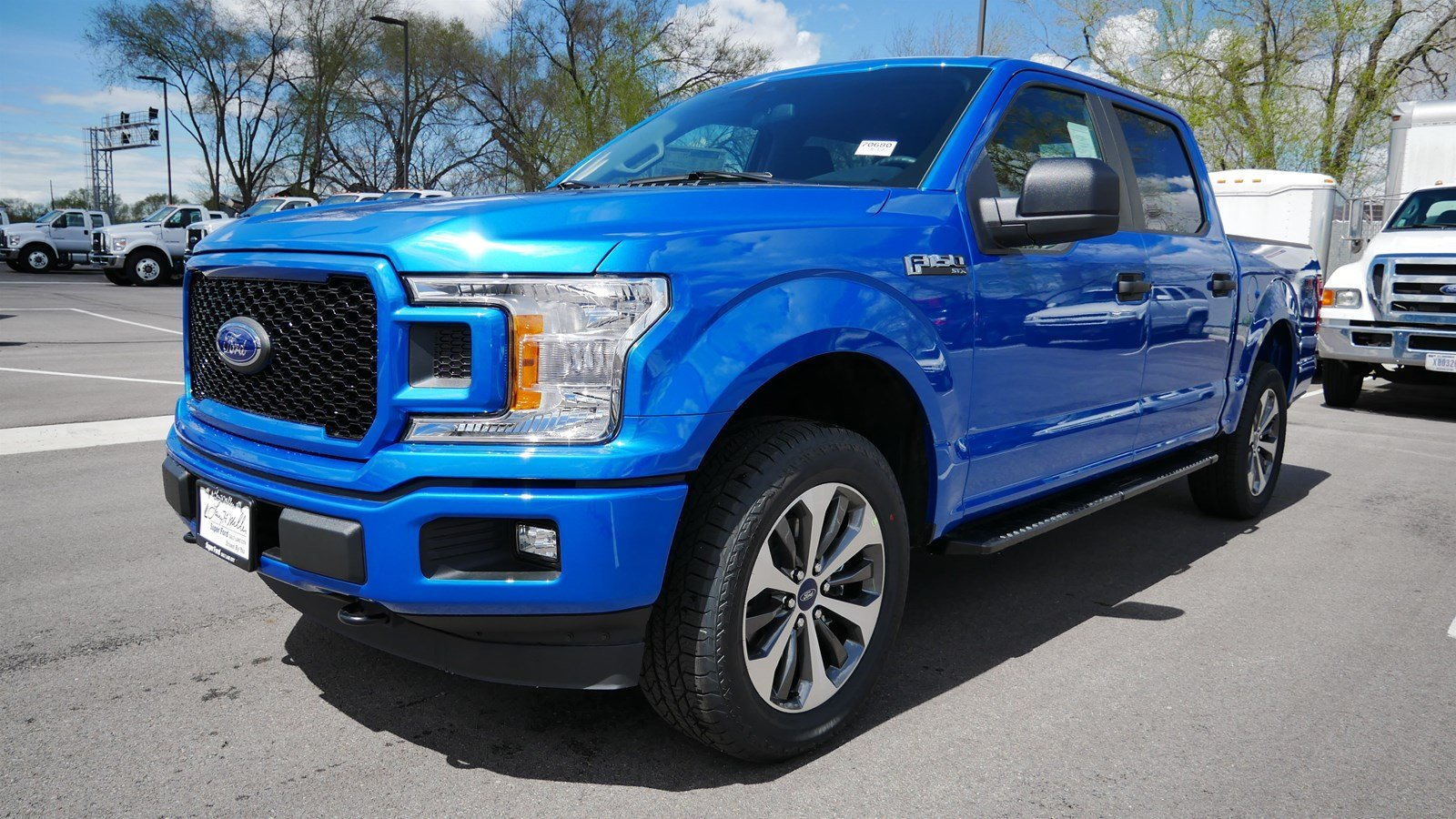 2019 F-150 SuperCrew Cab 4x4, Pickup #70680 - photo 7