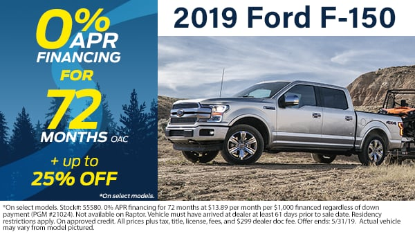 2019 F-150 SuperCrew Cab 4x4,  Pickup #70830 - photo 3