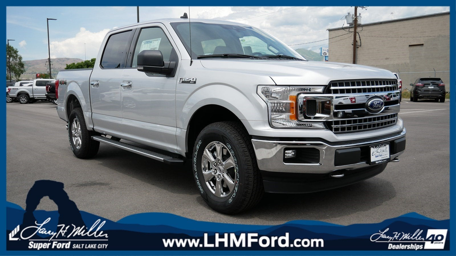 2019 F-150 SuperCrew Cab 4x4,  Pickup #70921 - photo 1