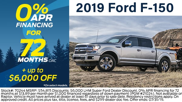 2019 F-150 SuperCrew Cab 4x4,  Pickup #70984 - photo 4