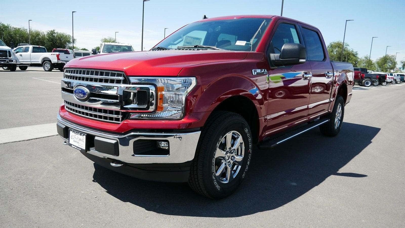 2019 F-150 SuperCrew Cab 4x4, Pickup #71122 - photo 8