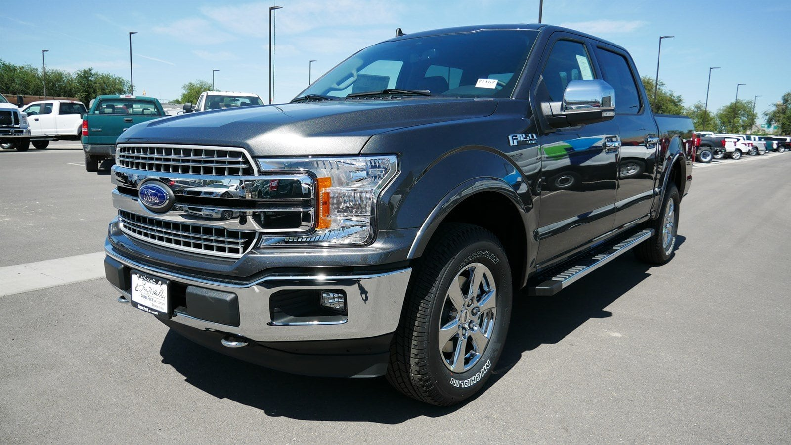 2019 F-150 SuperCrew Cab 4x4, Pickup #71167 - photo 8