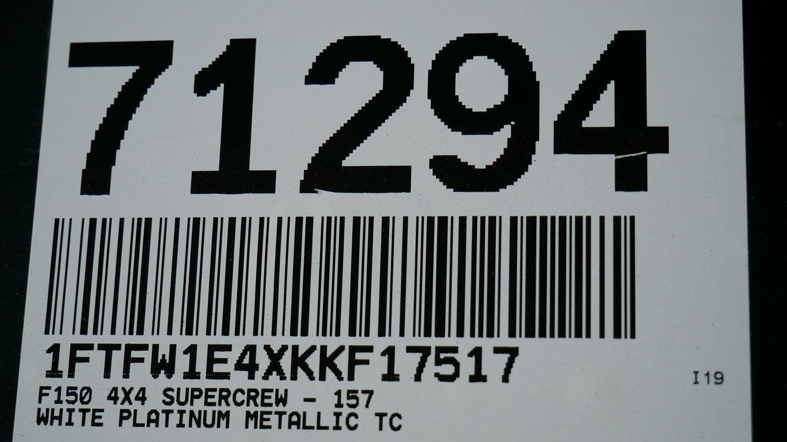 2019 F-150 SuperCrew Cab 4x4, Pickup #71294 - photo 40