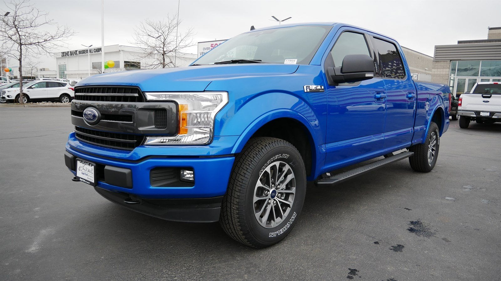 2019 F-150 SuperCrew Cab 4x4,  Pickup #77091 - photo 8