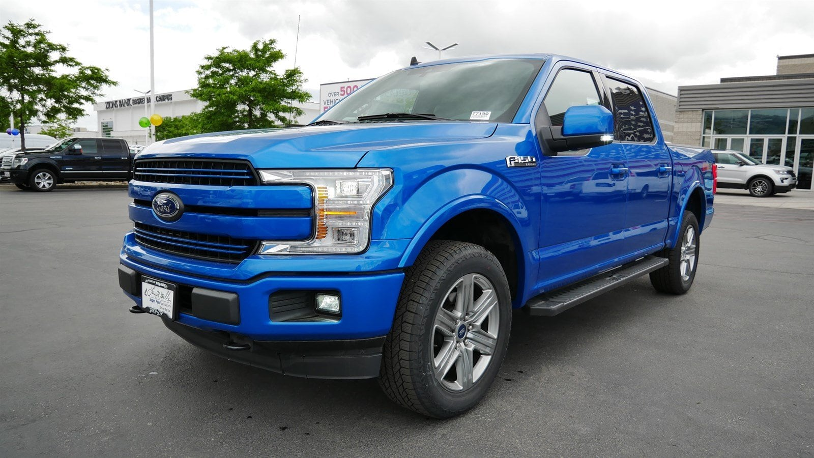 2019 F-150 SuperCrew Cab 4x4,  Pickup #77190 - photo 8