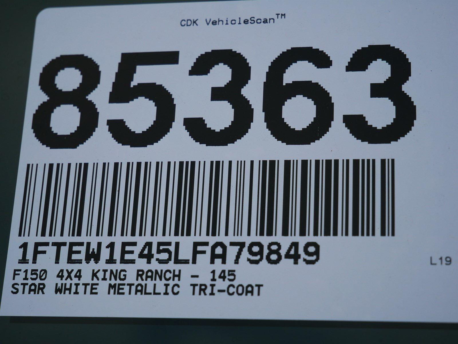 2020 F-150 SuperCrew Cab 4x4, Pickup #85363 - photo 39