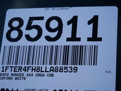2020 Ford Ranger SuperCrew Cab AWD, Pickup #85911 - photo 35