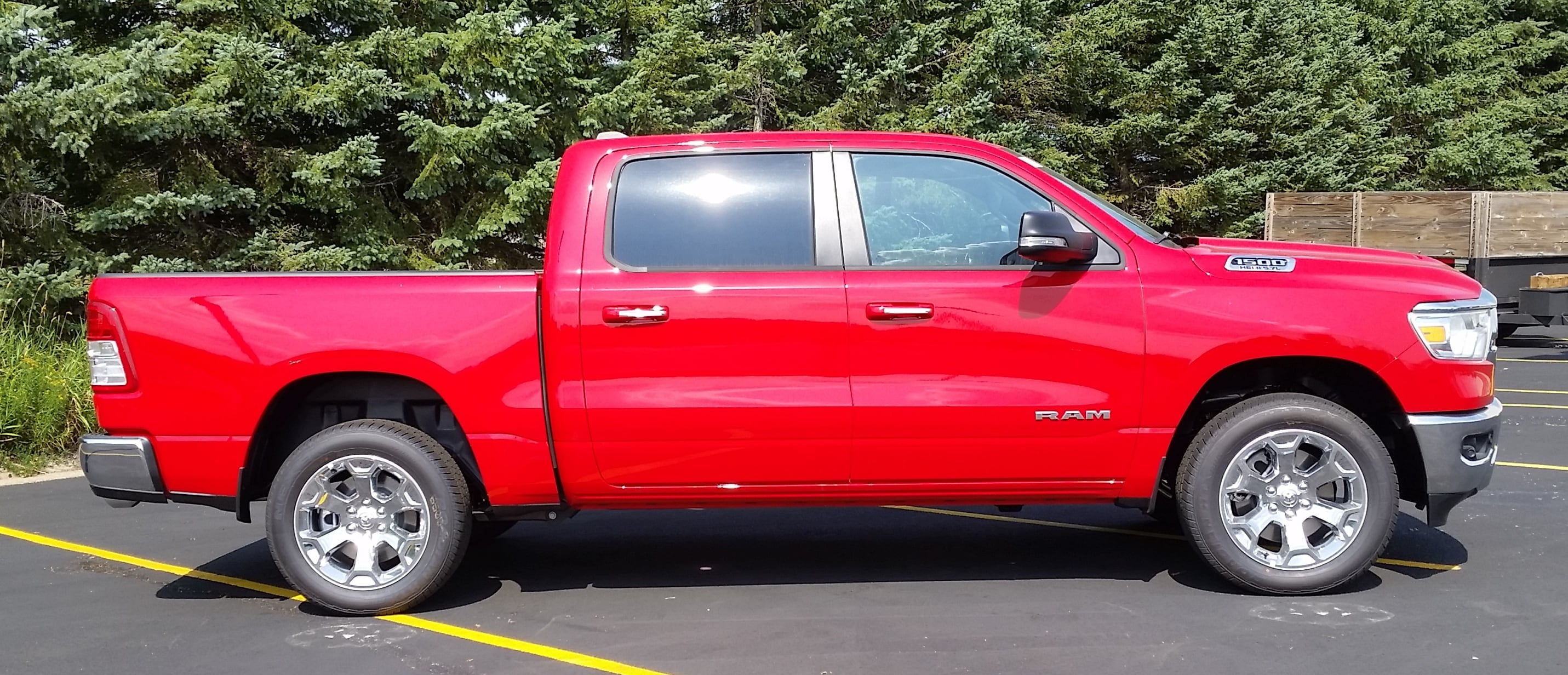 2019 Ram 1500 Crew Cab 4x4,  Pickup #10858 - photo 4