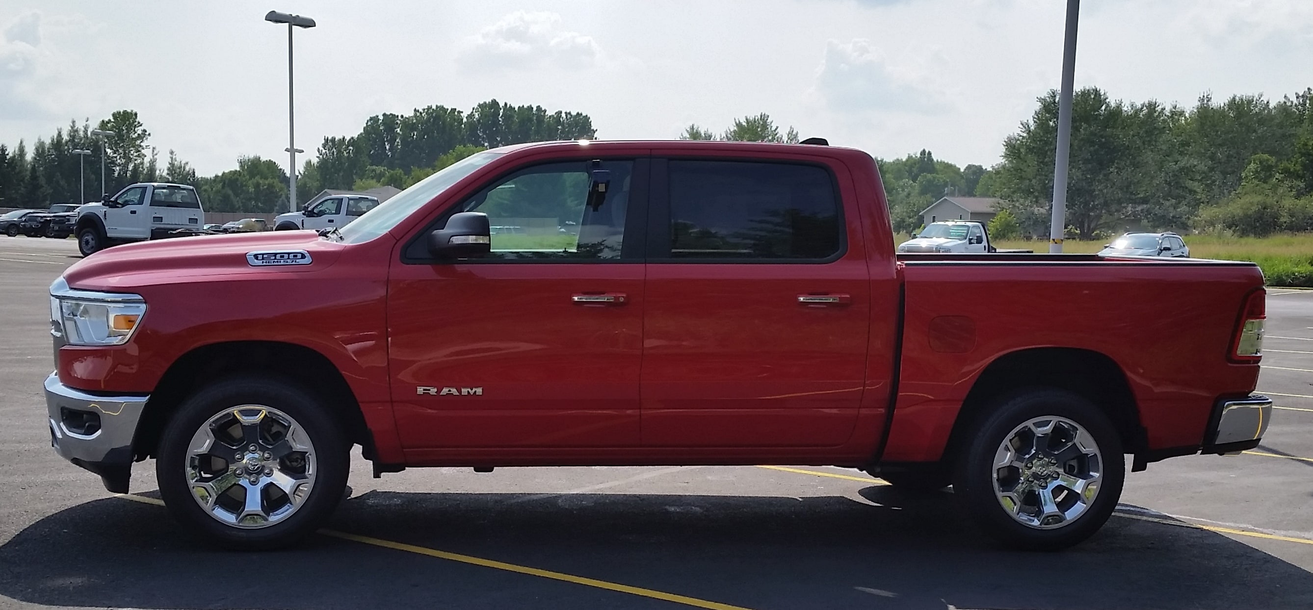 2019 Ram 1500 Crew Cab 4x4,  Pickup #10858 - photo 8