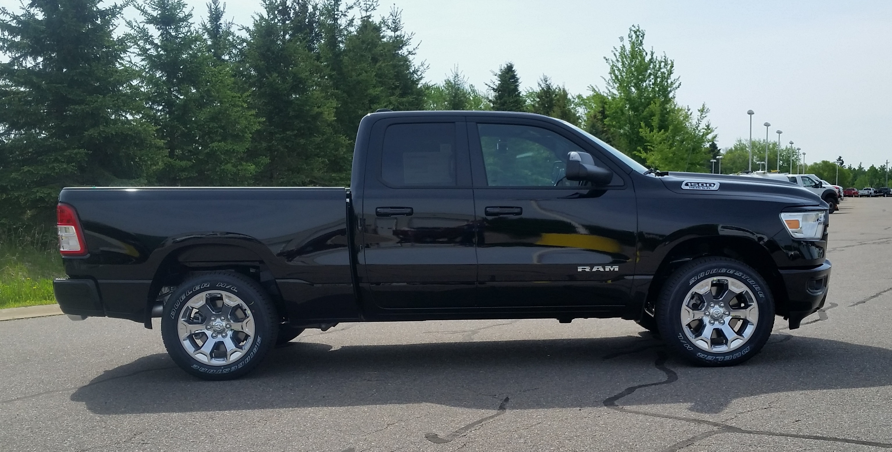2019 Ram 1500 Quad Cab 4x4,  Pickup #10918 - photo 5