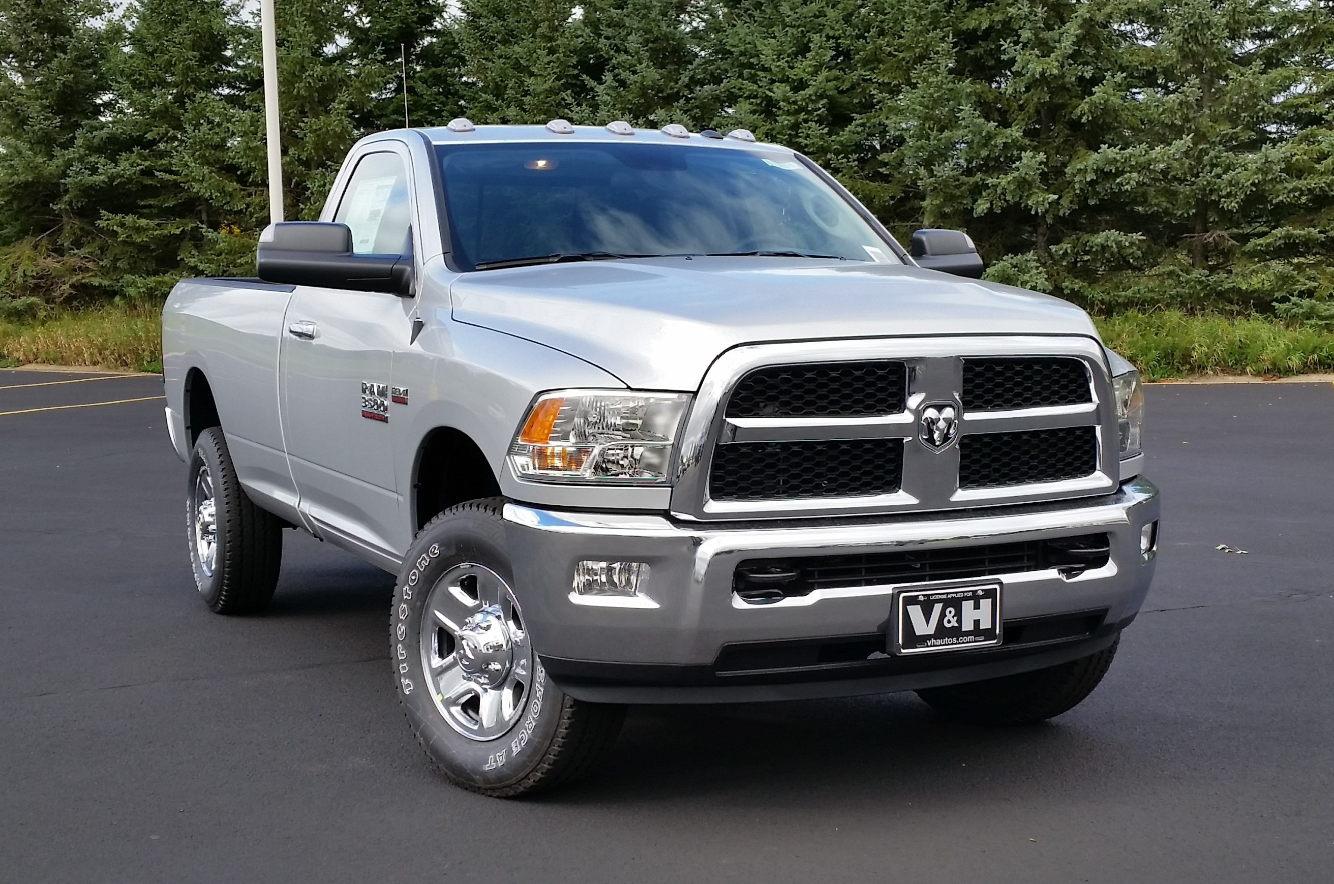 2018 Ram 3500 Regular Cab 4x4,  Pickup #11012 - photo 3