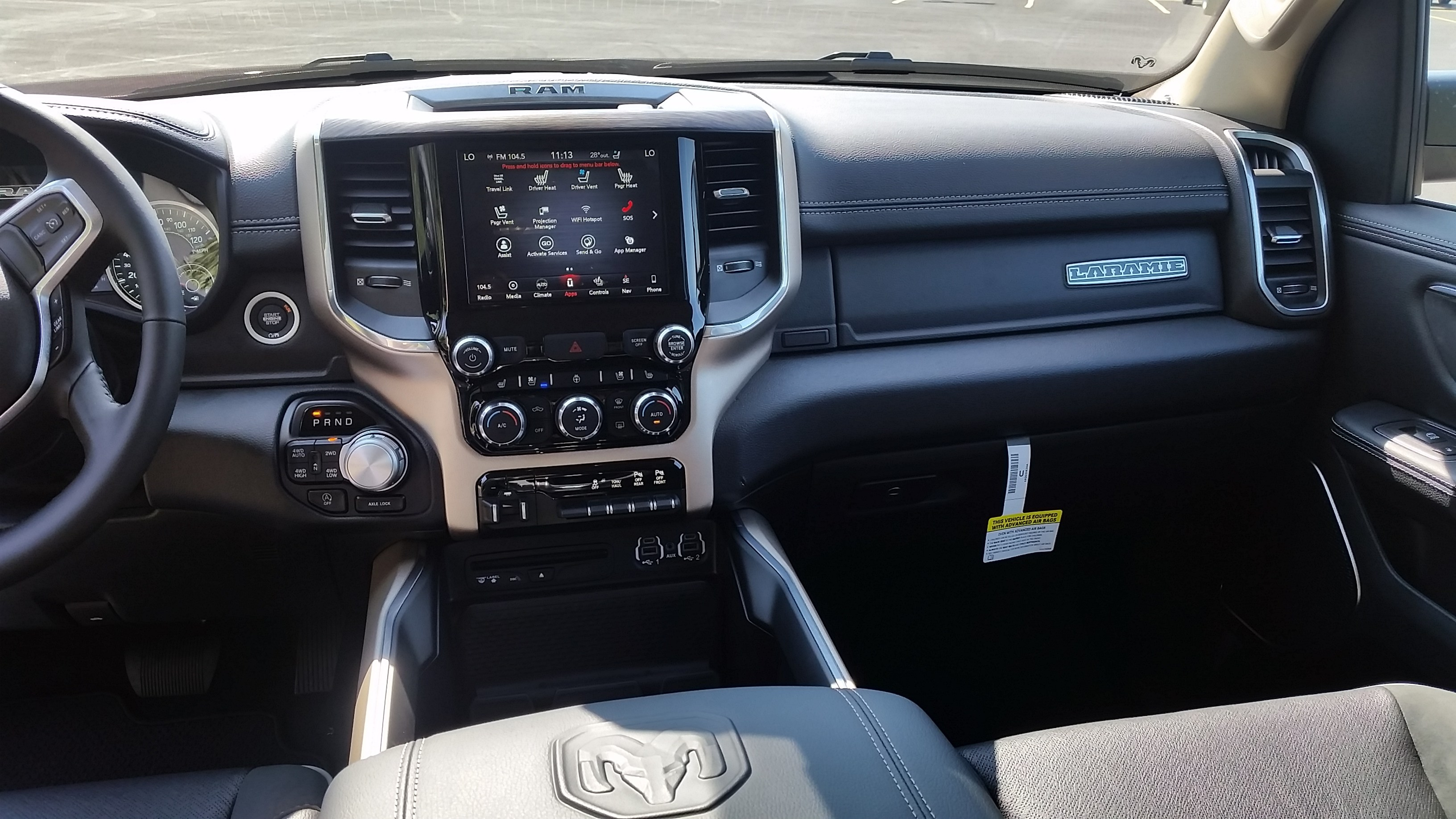 2019 Ram 1500 Crew Cab 4x4,  Pickup #11045 - photo 19