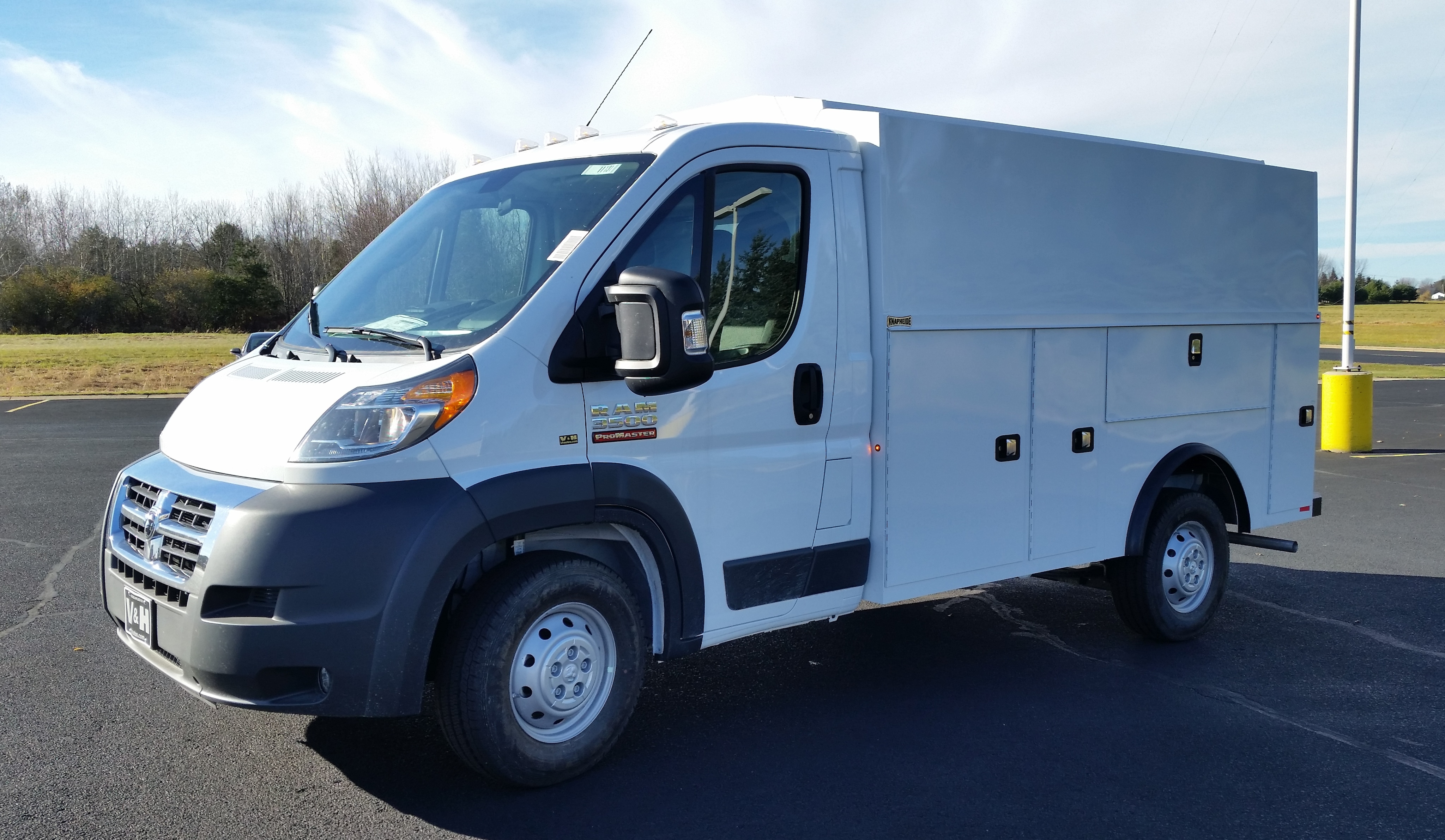 2018 ProMaster 3500 Standard Roof FWD,  Service Utility Van #11131 - photo 1