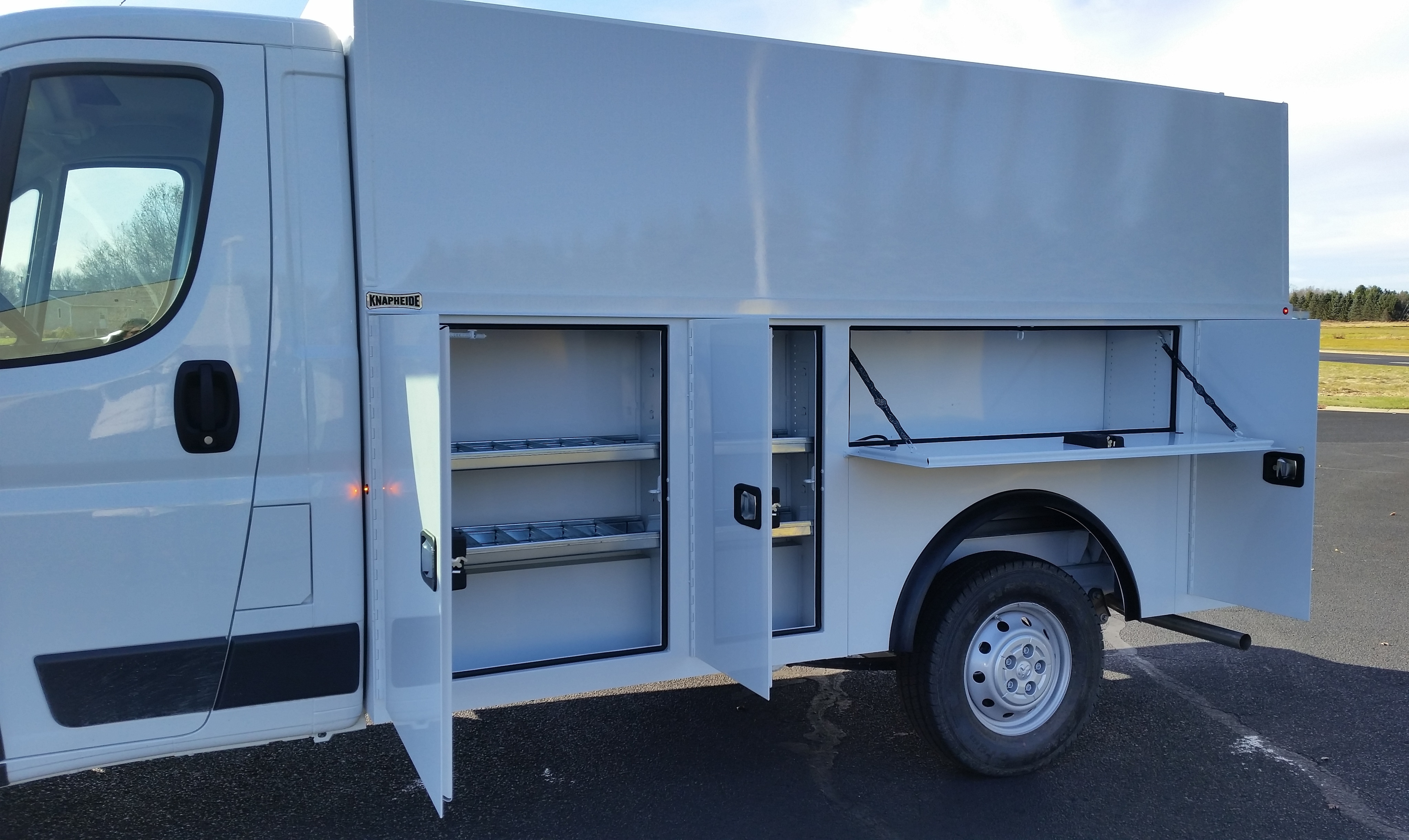 2018 ProMaster 3500 Standard Roof FWD,  Service Utility Van #11131 - photo 21