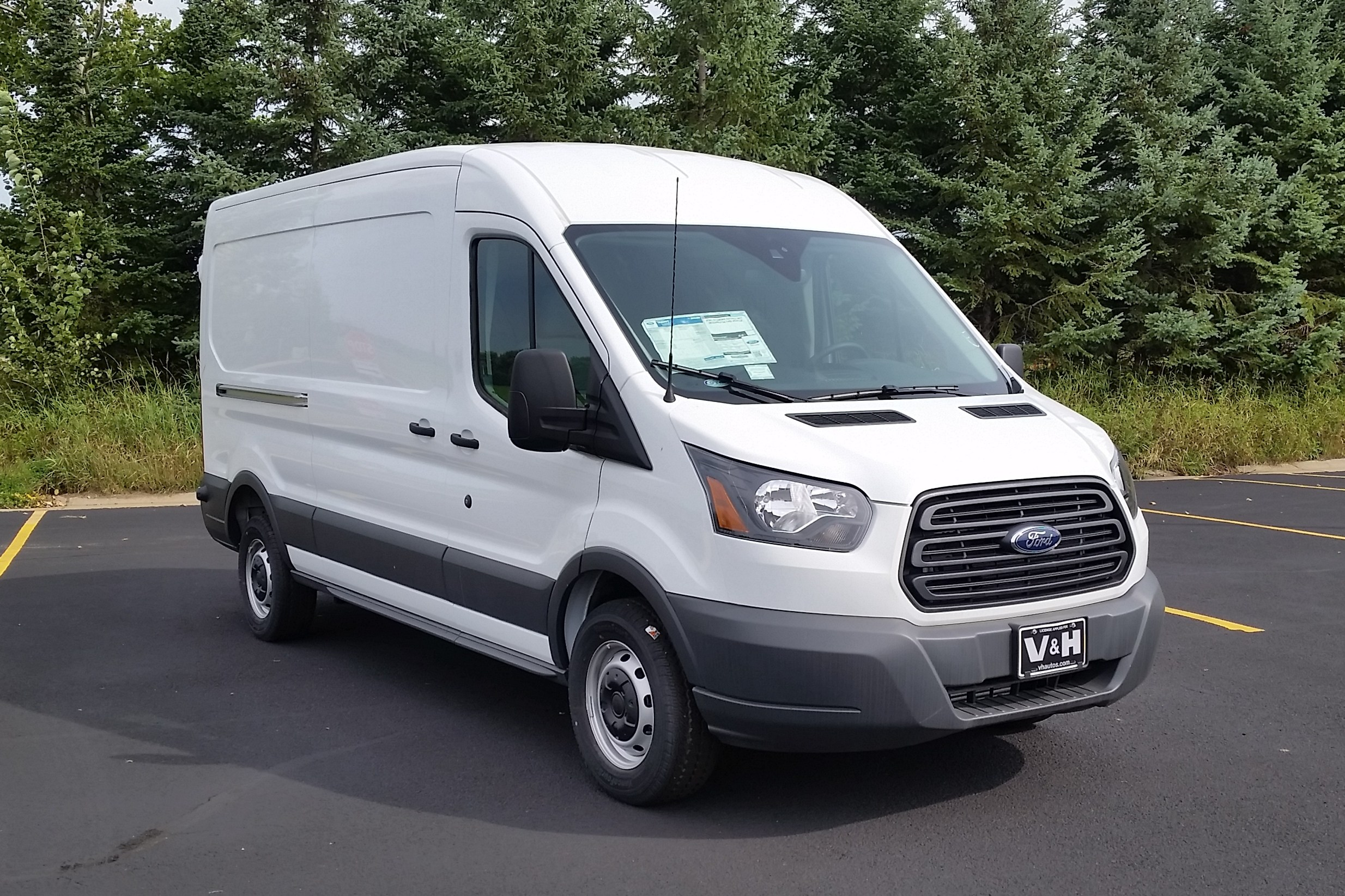 2017 Transit 250 Med Roof 4x2,  Empty Cargo Van #21528 - photo 3