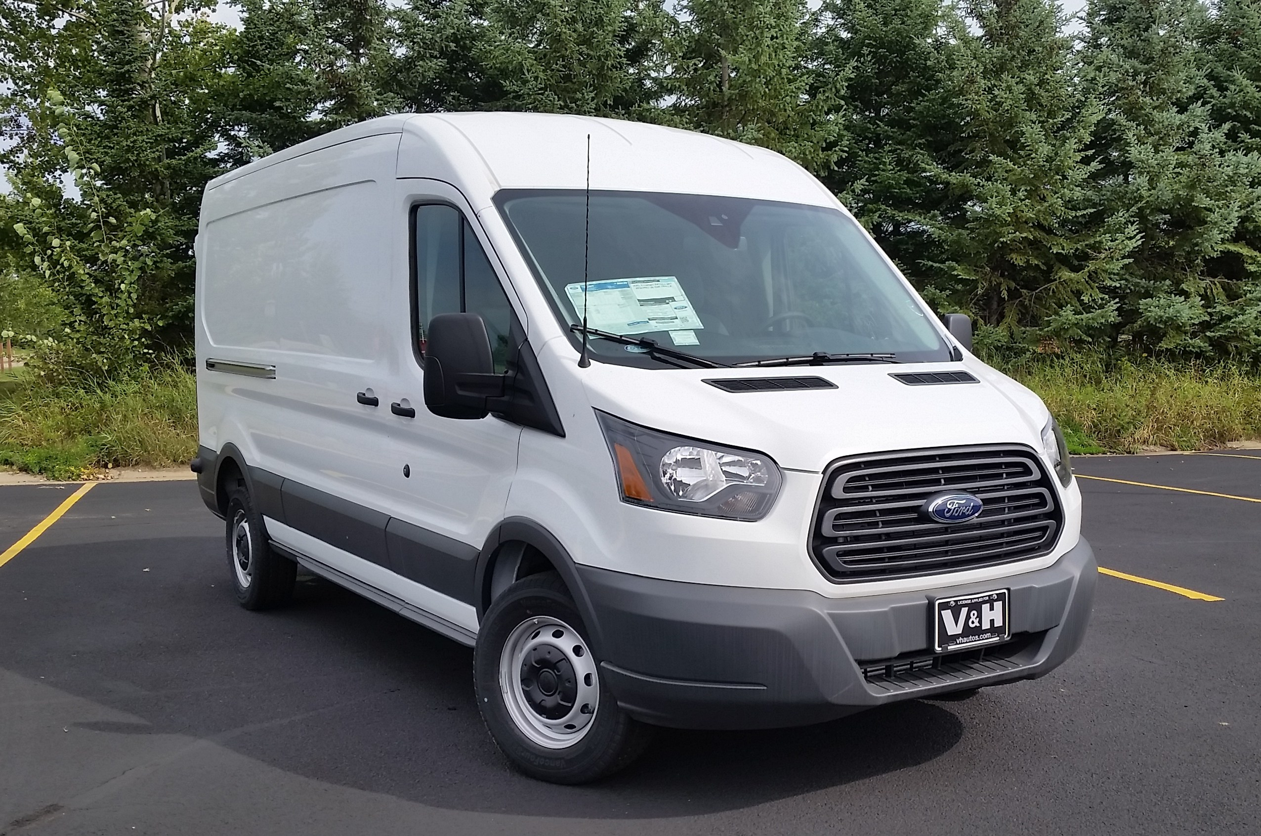 2017 Transit 250 Med Roof 4x2,  Empty Cargo Van #21528 - photo 21