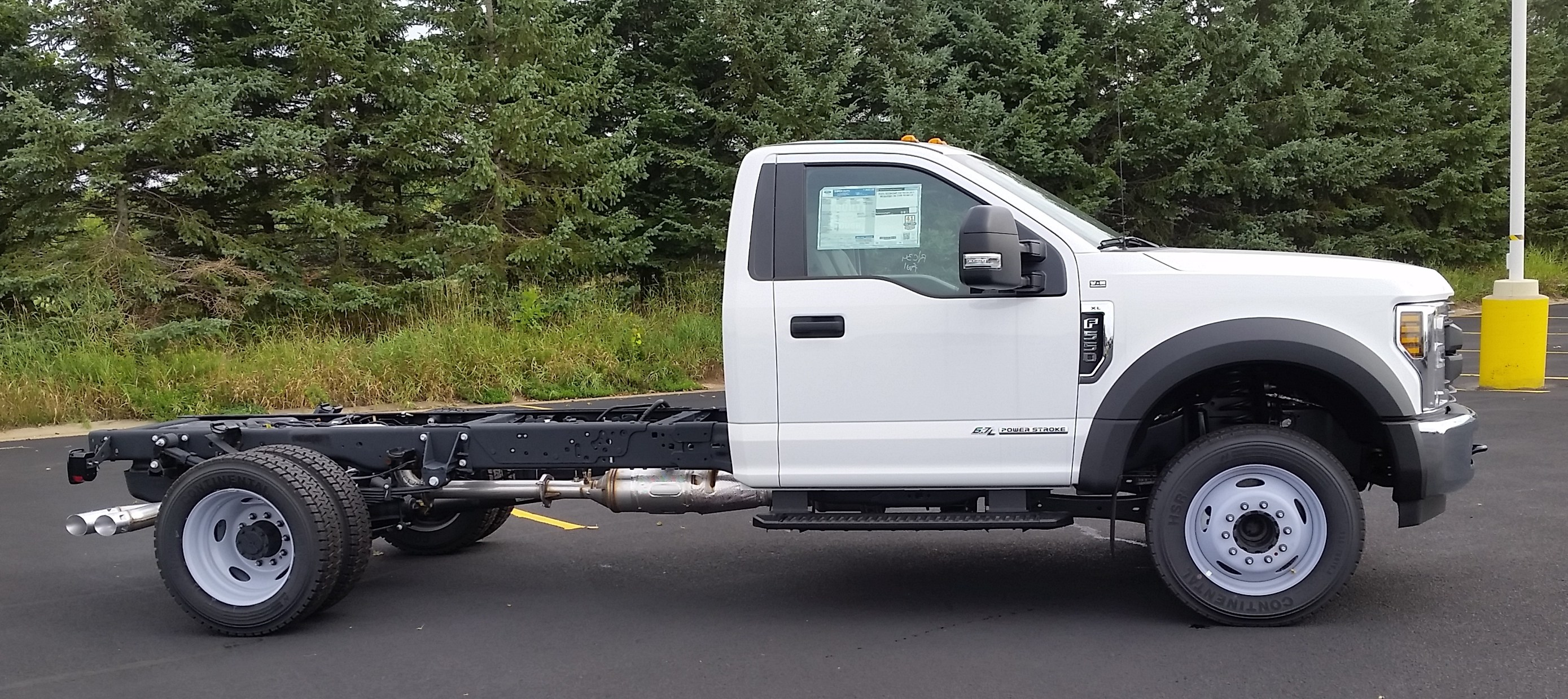 2018 F-550 Regular Cab DRW 4x2,  Cab Chassis #21821 - photo 4