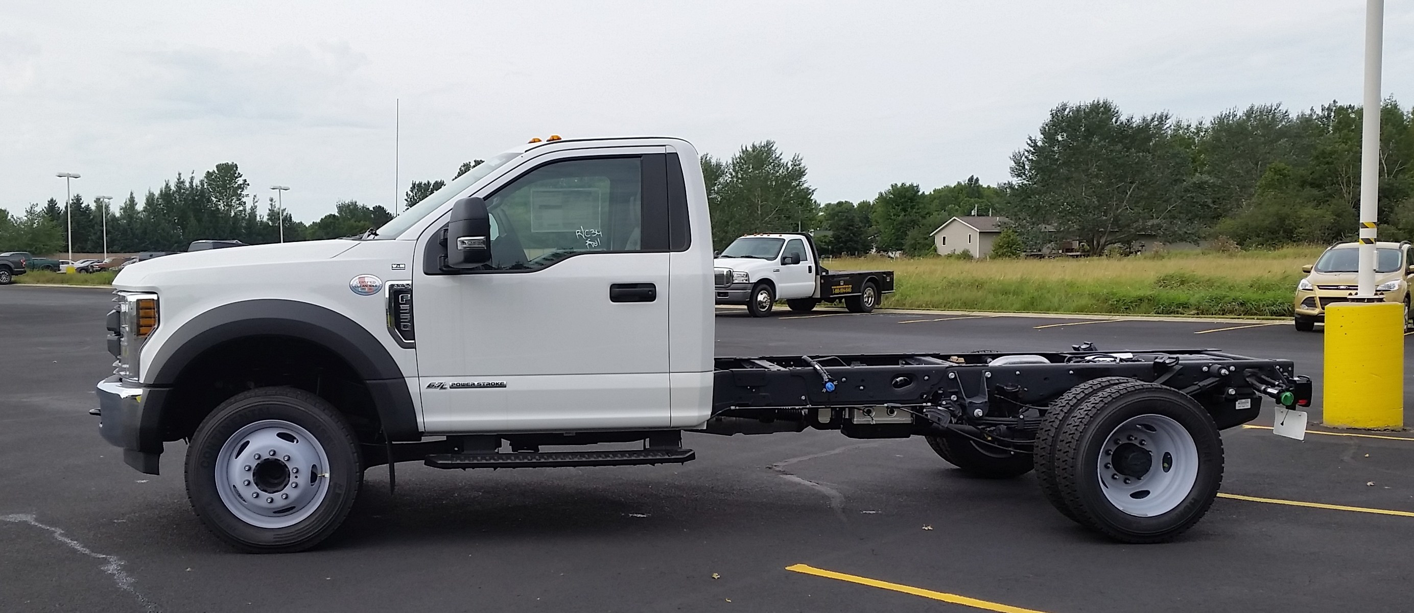 2018 F-550 Regular Cab DRW 4x2,  Cab Chassis #21821 - photo 6