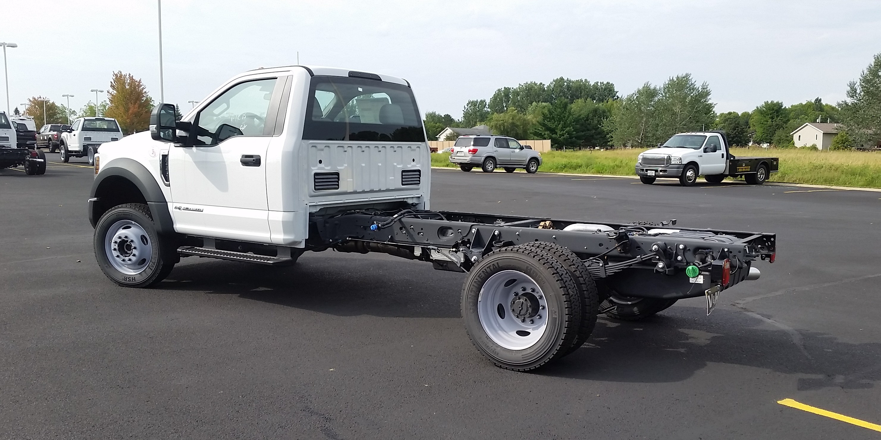 2018 F-550 Regular Cab DRW 4x4,  Cab Chassis #21839 - photo 5